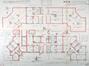 Cité du Verregat, plans terriers du bloc à appartements© AVB/TP 55065 (1925)