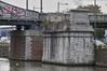 Quai des Usines, culée de l'ancien pont tournant au-dessus du canal de Willebroeck, ARCHistory / APEB, 2017