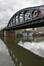 Pont ferroviaire au-dessus du canal de Willebroeck, vue depuis la chaussée de Vilvorde, ARCHistory / APEB, 2017