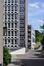 Boulevard Auguste Reyers 52, RTBF, détail des bâtiments L/M et N/P, 2011
