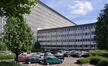 Boulevard Auguste Reyers 52, VRT, aile F à son raccord avec le bâtiment L/M, 2011