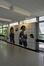Boulevard Auguste Reyers 52, RTBF/VRT, galerie centrale de circulation (A), composition en céramique par Van Hoeydonck, 2011