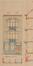 Rue de Linthout 60, élévation© ACS/Urb. 173-60 (1908)