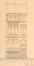 Avenue Milcamps 17, élévation© ACS/Urb. 194-17 (1910)