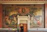 Avenue de Roodebeek 59-61, École no 11, préau couvert, composition sur toile marouflée par Privat Livemont, 2011