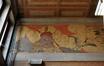 Avenue de Roodebeek 59-61, École no 11, école gardienne, couloir d'entrée, détail de la frise par Privat Livemont, 2011