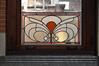 Avenue de Roodebeek 59-61, École no 11, école gardienne, couloir d'entrée, vitrail, 2011