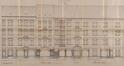Rue Théodore Roosevelt 8 à 20, place Wappers 6-7 à 10-11 - rue Victor Lefèvre 1, rue Victor Lefèvre 3 à 13, élévations vers la place Wappers© ACS/Urb. 253-2 à 20 (1906)