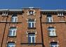 Rue Général Gratry 86a-86-88, détail de la façade côté rue Gratry, 2011