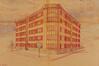 Avenue de Roodebeek 121-123, perspective© ACS/Urb. 235-123 (1936-1937)