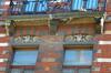 Rue des Ailes 60, détail du premier étage, 2014