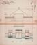 Rue des Ailes 71, élévation originelle© (GOSLAR, M., Victor Horta. 1861-1947. L'homme – l'architecte – l'Art nouveau, Fondation Pierre Lahaut – Fonds Mercator, Anvers, 2012, p. 122)