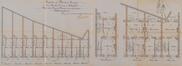 Rue Camille Simoens 21 à 5, plans prévus pour les rez-de-chaussée© ACS/Urb. 31-5-21 (1904)