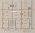 Rue Camille Simoens 8 à 38, plans prévus pour les rez-de-chaussée© ACS/Urb. 31-8-38 (1904)