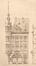 Place Colignon 2 - rue Royale Sainte-Marie 200, élévation vers la rue, (VAN MASSENHOVE, H., LOW, G., Les Maisons Modernes, Livraison II, éditeur Constant Baune, Bruxelles, 1901, pl. I)