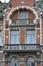 Place Colignon 3-5, détail du dernier niveau, 2014