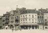 Vue de la place Colignon avec, sur l'angle, le no 14, (Collection Dexia Banque-ARB-RBC)