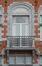 Place Colignon 16-18, détail du second étage, 2014