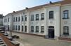 Rue Gallait 131, école communale no2, façade arrière, 2014