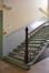 Rue Gallait 131, école communale no2, départ d'escalier, 2014