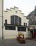 Rue Gallait 131, école communale no2, bâtiment intermédiaire, pignon vers la cour de l'école de la rue Quinaux, 2014