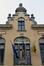 Rue Quinaux 32, ancienne école no12, détail de la travée axiale, 2014
