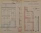 Rue Goossens 17, conciergerie de la salle des fêtes du Patronage Saint-Servais, élévation, coupe de la façade et plan du rez-de-chaussée, ACS/Urb. 122-17-21 (1894)