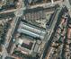 Haachtsesteenweg 327, Rubensstraat 95 en Koninklijke Sint-Mariastraat 174a, tramstelplaats, luchtfoto© (Brussel UrbIS ® © - Distributie : C.I.B.G., Kunstenlaan 20, 1000 Brussel)