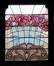 Avenue Maréchal Foch 11, vitrail de l'imposte de la porte© (Fonds APEB, 2005)