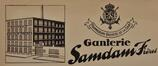 En-tête de la ganterie Gaston Samdam, ACS/Urb. 192-10 (1938)