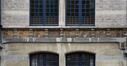 Rue Renkin 33, frise de sgraffites du rez-de-chaussée, 2012