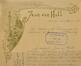 En-tête du papier à lettres de l'architecte Jean Van Hall, ACS/Urb. 228-90 (1901)