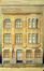 Rue Rubens 108-110, ancienne école paroissiale Saint-Servais, élévation© Archives de la fabrique de l'Église Saint-Servais (1934)