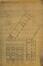 Rue Rubens 108-110, ancienne école paroissiale Saint-Servais, plan d'ensemble et élévation du bâtiment à rue© Archives de la fabrique de l'Église Saint-Servais (1935)