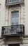 Rue Vandermeersch 53, porte-fenêtre du premier étage, 2014