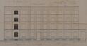 Rue Van Schoor 61-61a - rue du Pavillon 63, élévation de l'agrandissement de 1910 © ACS/Urb. 269-61 (1910)