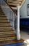 Rue Verwée 12, Athénée royal Alfred Verwée, corps parallèle à la rue, escalier, 2014