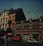Chaussée de Haecht 353-357, Athénée royal Alfred Verwée, vue de la galerie couverte du jardin d'enfants avant sa démolition© ACS/Urb. 277-8-10-12 (1984)