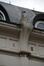 Rue Verwée 22 et 24, sommet du pilastre axial, 2014