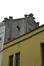 Rue d'Hoogvorst 14, pignon du 16, fausse façade pour l'ancien jardin , 2014