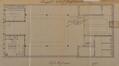 Rue d'Hoogvorst 14, plan du rez-de-chaussée, ACS/Urb. 69-12 (1907)