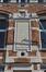Rue Gaucheret 124a et place Gaucheret 1-1a, École communale no8, corps à rue, façade à rue, trumeau central, 2016
