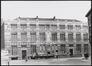 Rue Gaucheret 124a et place Gaucheret 1-1a, École communale no8, corps à rue, façade à rue, (© Sint-Lukasarchief)