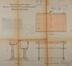 Rue Gaucheret 124a et place Gaucheret 1-1a, École communale no8, plans des bancs et pupitres, ACS/TP Écoles 4 et 8 (1913)