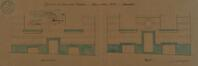 Place Lehon 4, projet de percement d'une porte© ACS/Urb. 166-4 (1881)