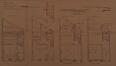 Rue des Palais 11 - rue de la Poste 121, plans terriers© ACS/Urb. 204-11 (1929)