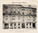 Rue des Palais 34 et 36 , (Album de la Maison Moderne, 3e année, pl. 112)