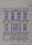 Rue des Palais 34, élévation , ACS/Urb. 204-32-34 (1908)