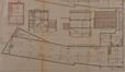Rue des Palais 112, plan de la parcelle en 1929© ACS/Urb. 204-112 (1929)