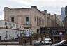 Rue du Progrès 80, gare du Nord, vue depuis la place Solvay, 2017